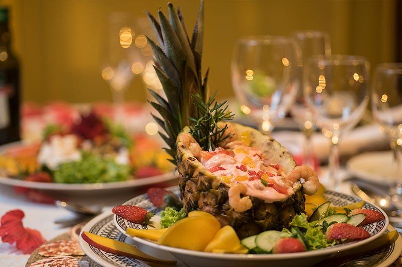 Comida e pratos especiais