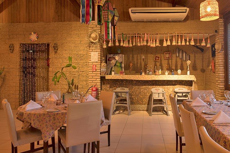 Restaurante com sabores nordestinos